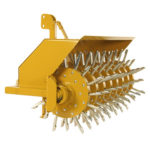 Alternating Depth Lawn Plugger